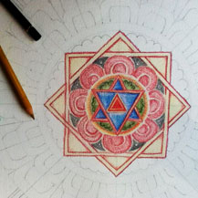 drawing-mandala-tibetan