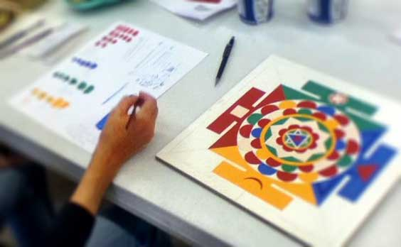 how-to-paint-tibetan-mandala