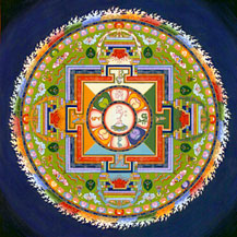 Mandala of Compassion by Carmen Mensink