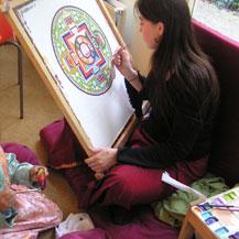 painting-mandala-avalokiteshvara-chenrezig