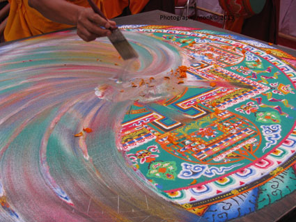 Sand Mandalas | Tibetan Buddhist Mandalas - all information ...